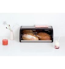 Brødboks / med svarte sider Matt Steel / F.P.P.