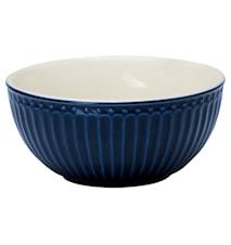 Alice Frukostskål Mörkblå