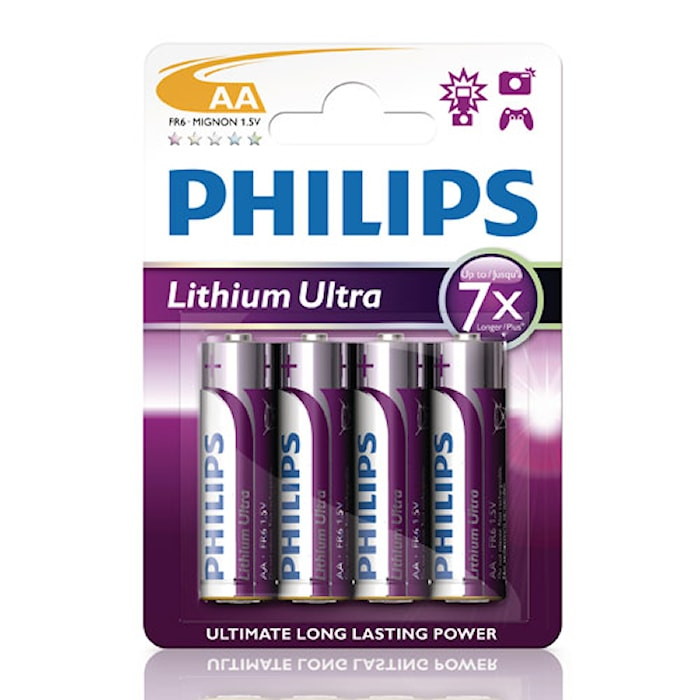 Fashion Ultra Lithium AA FR06 4-pack