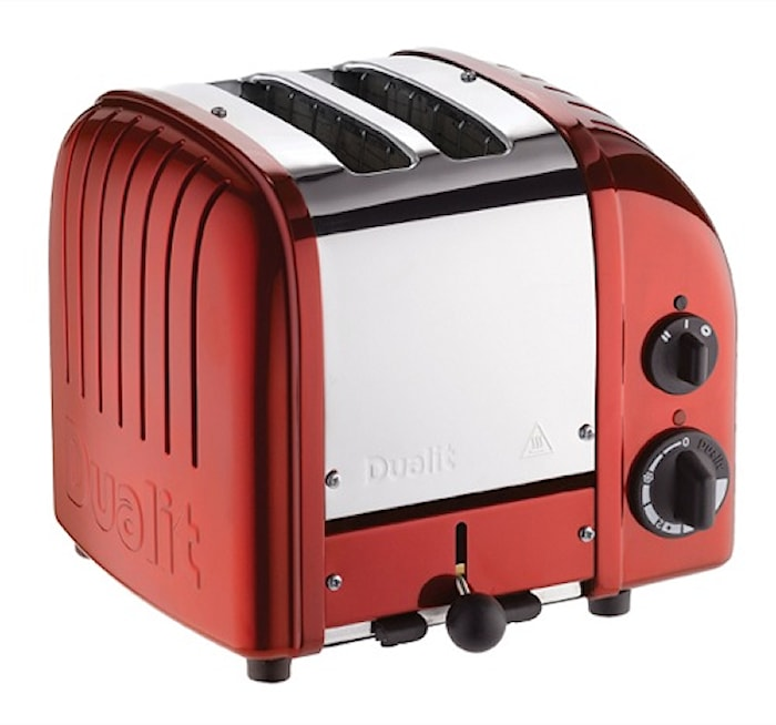 Brødrister Classic 2 Skiver Apple Candy Red