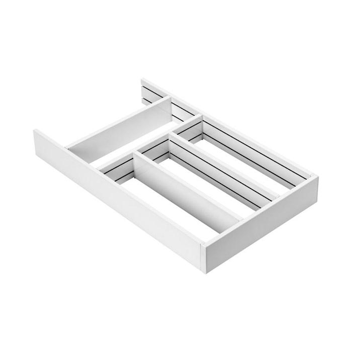 Flex Basic Bestikskuffe ramme 278/500 - Hvid