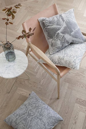 Rama chair fåtölj - Såpbehandlad, mocca