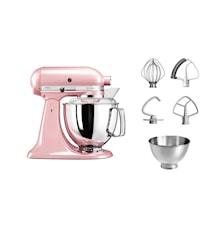 Artisan 175 Køkkenmaskine 4,8 liter Rosa 5KSM175PSESP