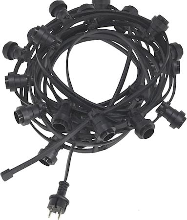 Bright light string 20 Musta 12m