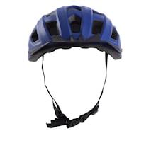 Cykelhjälm med baklykta Blå Medium