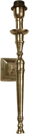 Salong Vägglampa Antikmässing 45cm