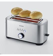 Leivänpaahdin 4 viipaleen Ruostumaton Teräs