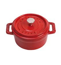 Pyöreä pata 10 cm Punainen 0,25 L