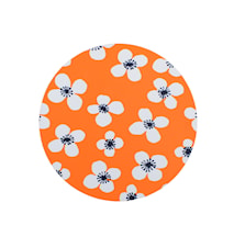 Belle Amie Gryteunderlegg Orange Ø 21 cm