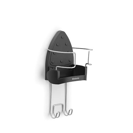 Hållare för strykjärnet väggmonteras Mörkgrå