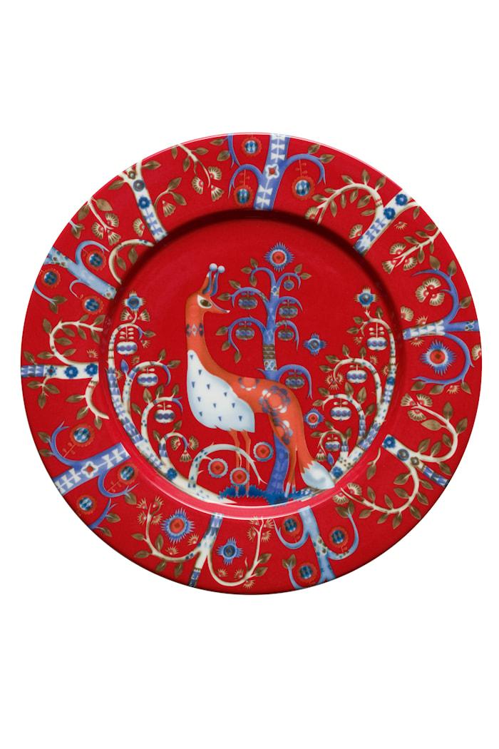 Taika Lautanen 22 cm punainen
