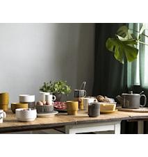 Coffee & More Assiett Gul 20 cm