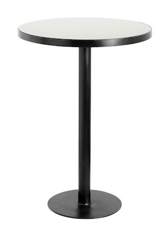 Höjt Cafébord Svart Järn Ø80 cm