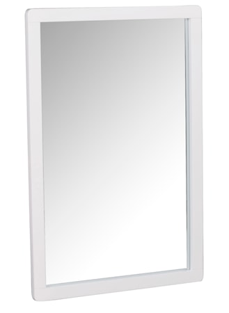 Methro Spegel Vitlackad Björk 60x90 cm
