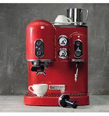 Artisan espressomaskine rød, 2