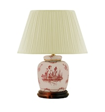 Lampfot 17,5cm Rosa Änglar
