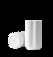 Vase Porselen Hvit 25cm