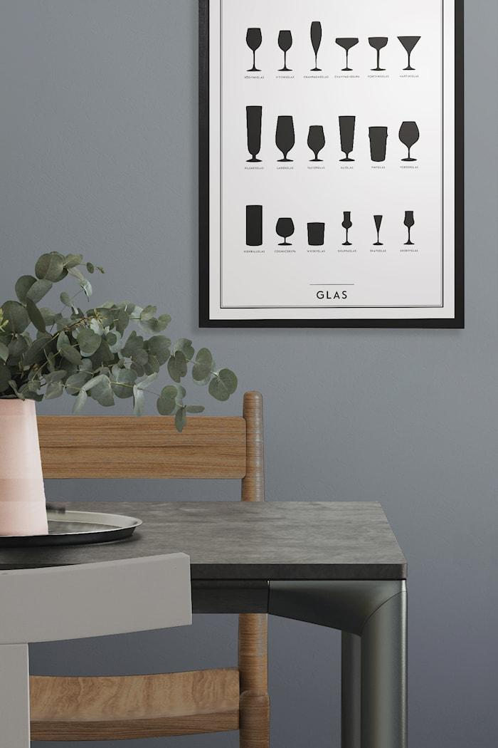 Glass Poster 50x70 cm