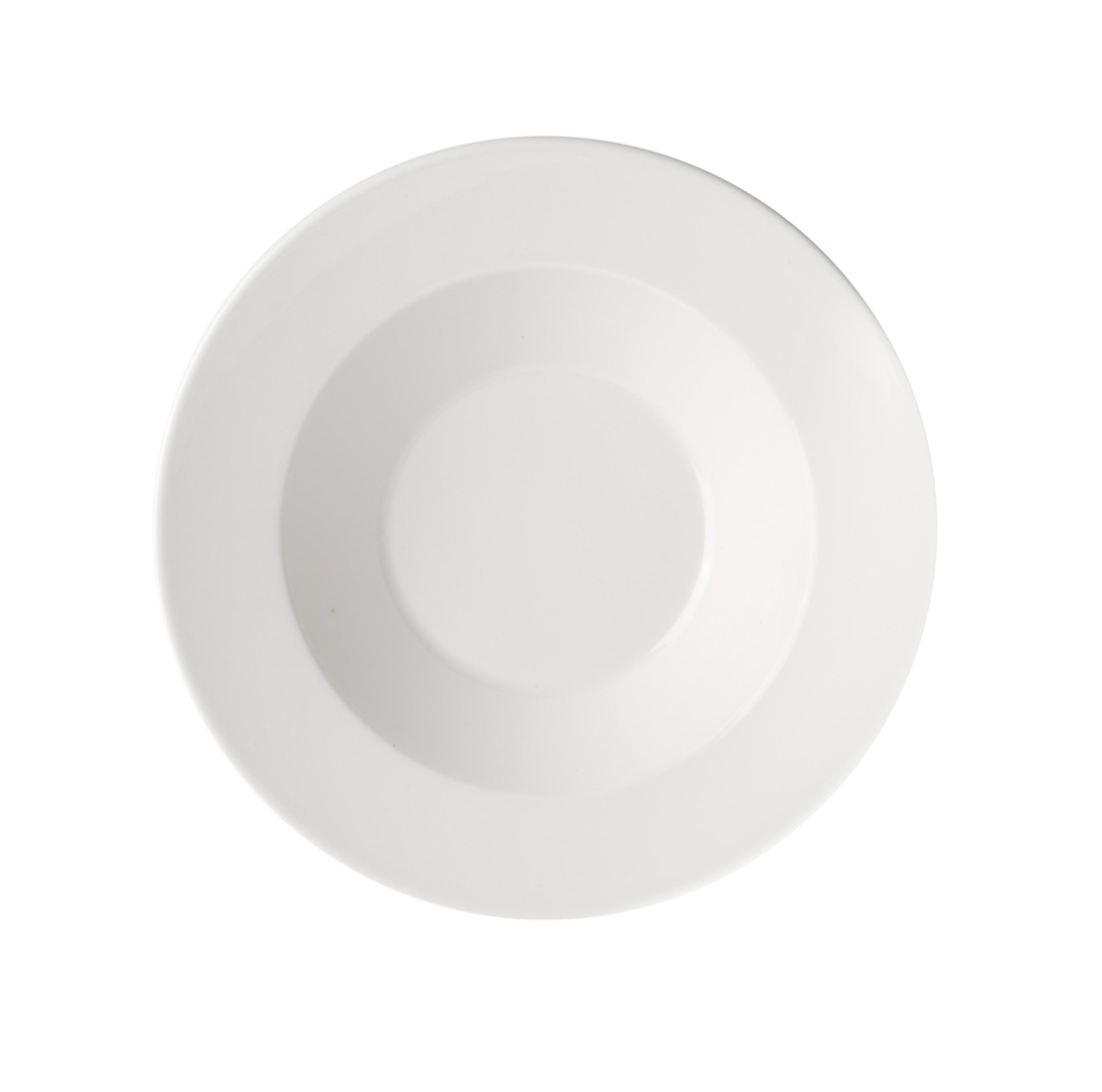 KoKo Tallrik djup 24 cm vit