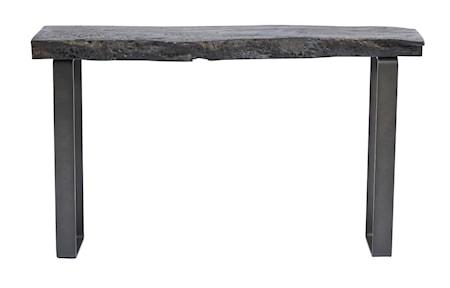 Konsolbord Miku Svart Longan trä 40x90x155 cm