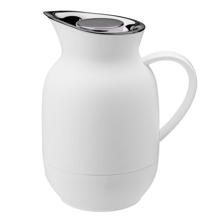 Amphora Vakuum Kaffetermos soft white 1L