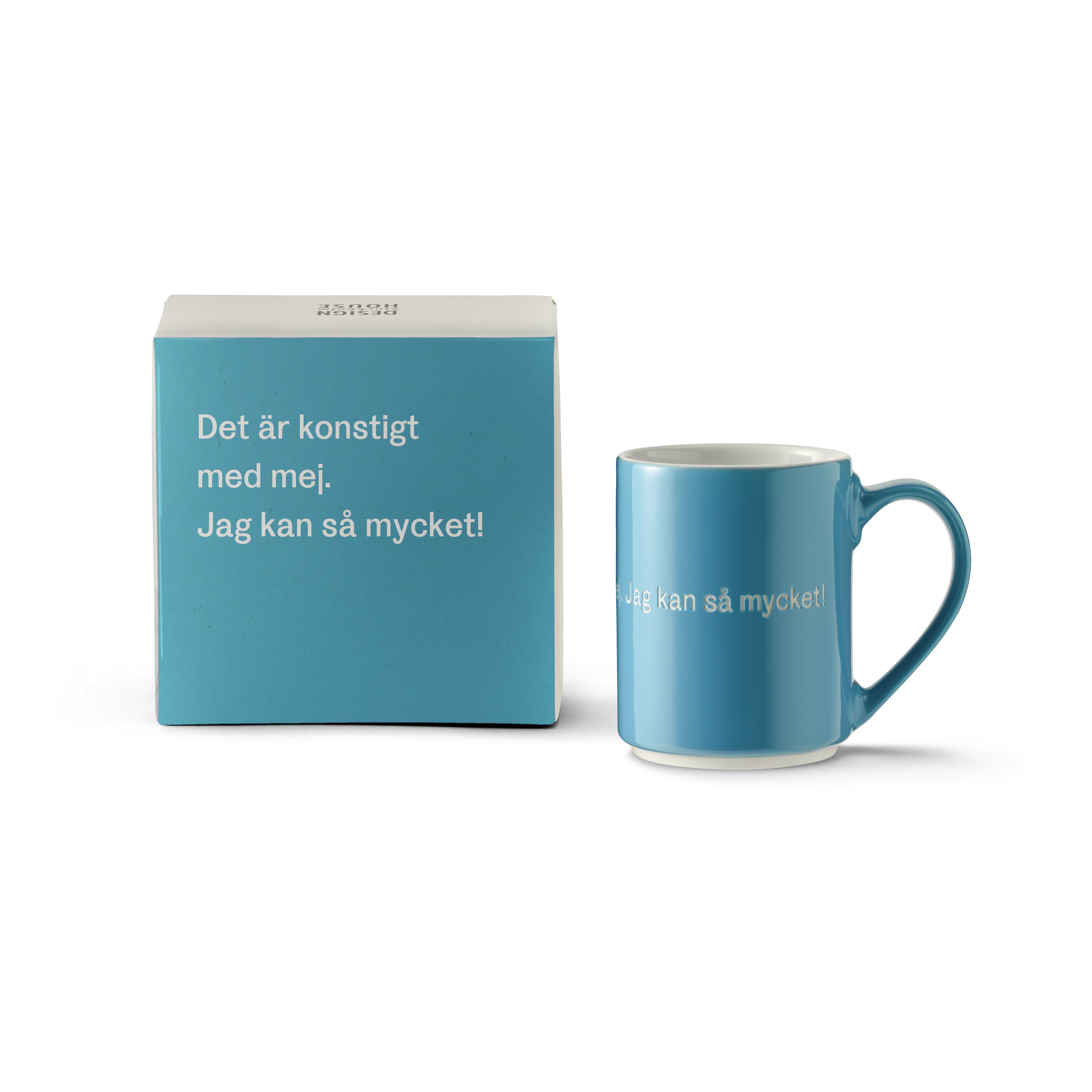 Astrid Lindgren Mugg 13 Blå