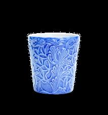 Spets Mugg Ljusblå 30 cl