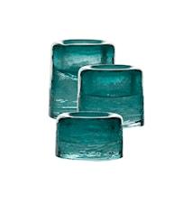 Ljuslykta Sarek 6cm Emerald