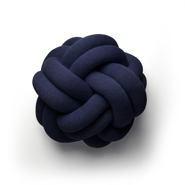 Knot Kudde Marinblå