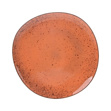 Keramik Tallrik Orange