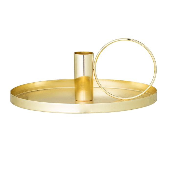 Ljusstake Shiny - Guld