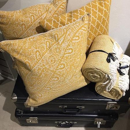 Paisley kudde 50x50 – Honey gold