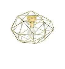 Plafond Diamond Mässing