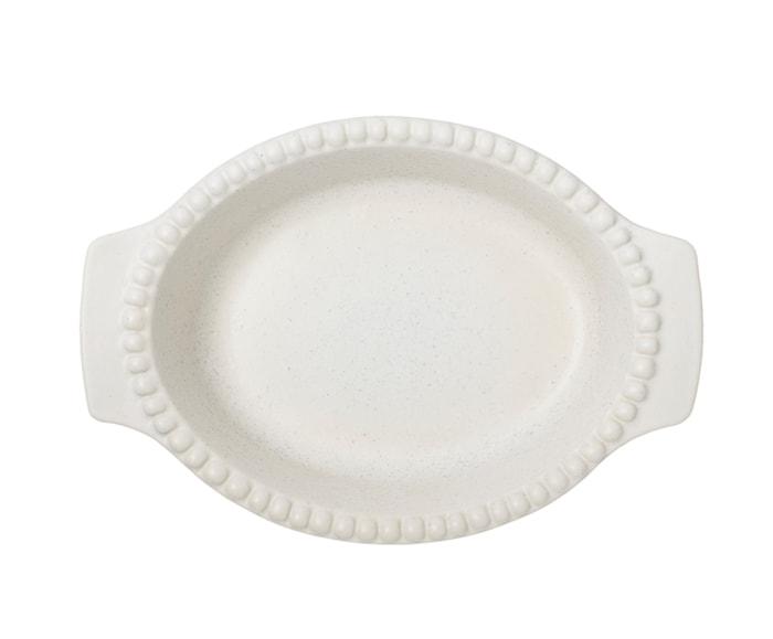 DARIA Bradepande Hvid 26 cm