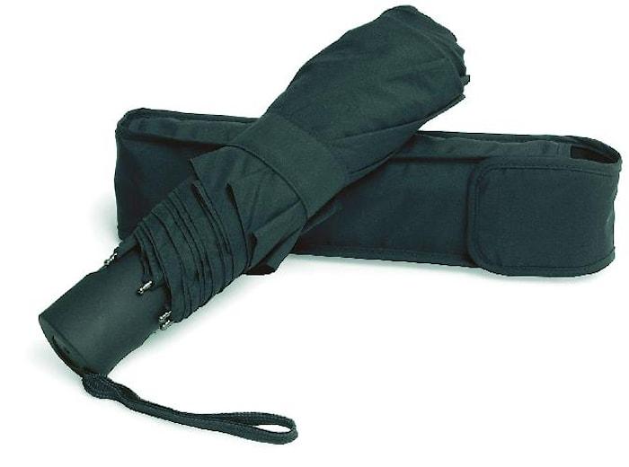 Miniparaply automatiskt, sort