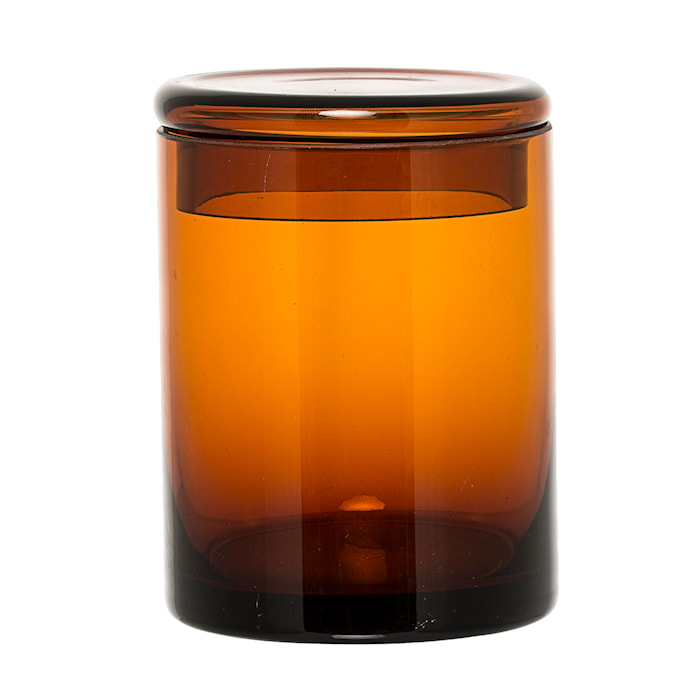 Boks med lokk Brun Glass 9x12cm
