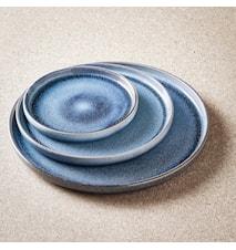Sonja sininen illallislautanen 2-pakkaus