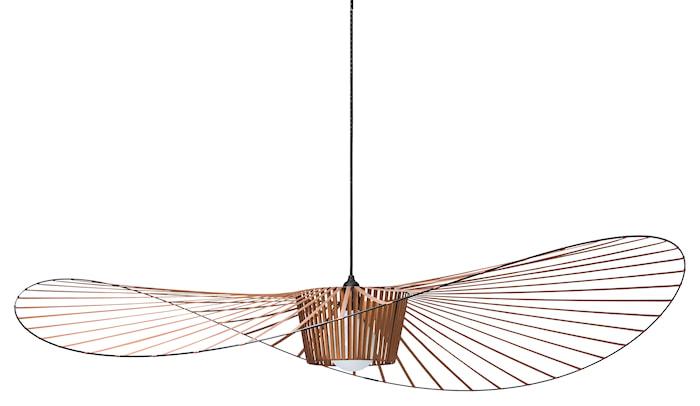 Vertigo taklampe Large - kobber