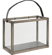 Lantern vintage ljuslykta - Dubbel