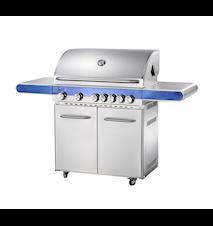 Bluegaz Z5 - 5-Flammen+Backburner+Kochfeld