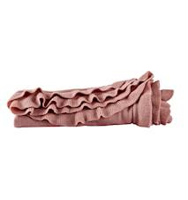 Plaid - 100% Akryl - Rose - L 130,0cm - B 160,0cm - Stk.