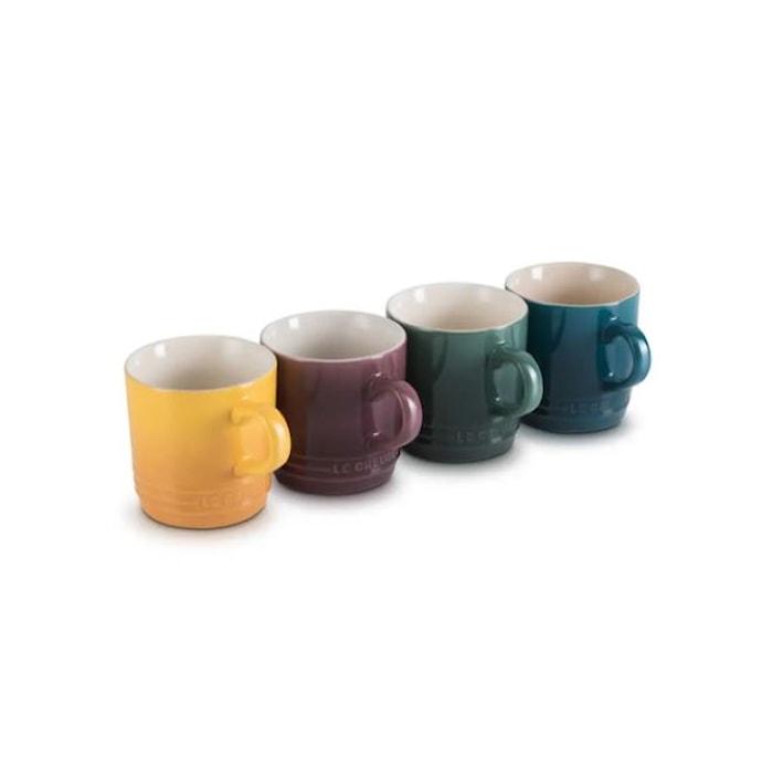 Botanique Collection 4 kaffekoppar