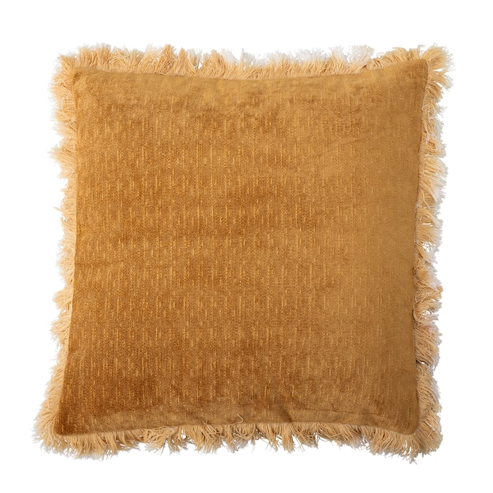 Pude Gul Polyester 45x45 cm