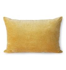 Velvet Cushion Gold 40 x 60 cm