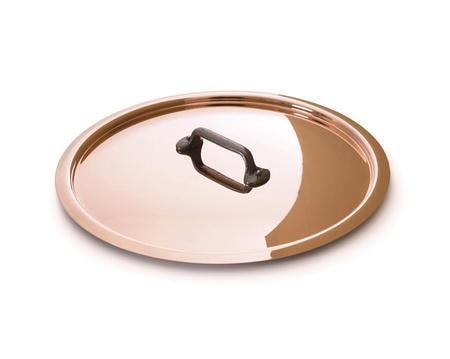 M'250 Cuprinox lokk kobber/jern - 24 cm