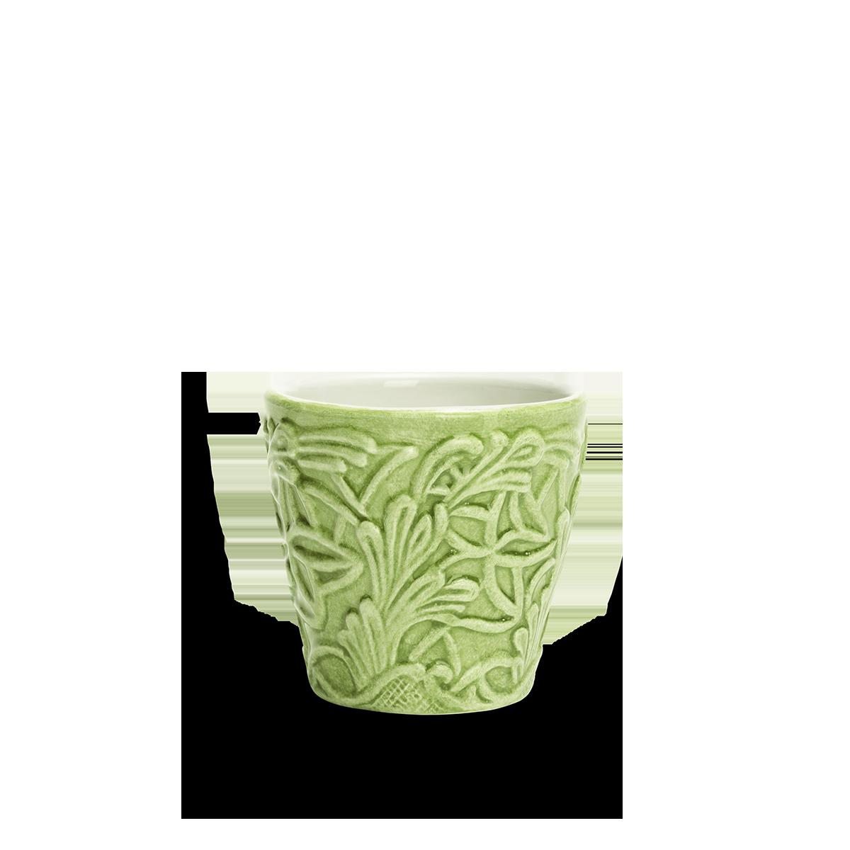 Spets Espressokopp Grön 10 cl
