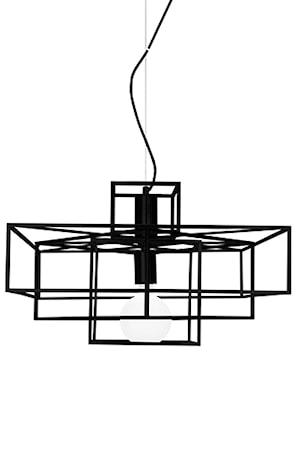 Kattolamppu Cube Mattamusta