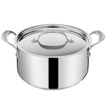 Jamie Oliver Cook's Classic Gryta 5,2l Rostfritt Stål Med Lock