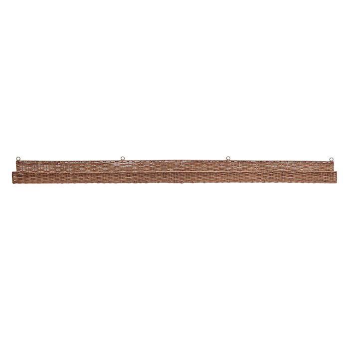 Kenya Hylla Rotting Brun 152x10cm