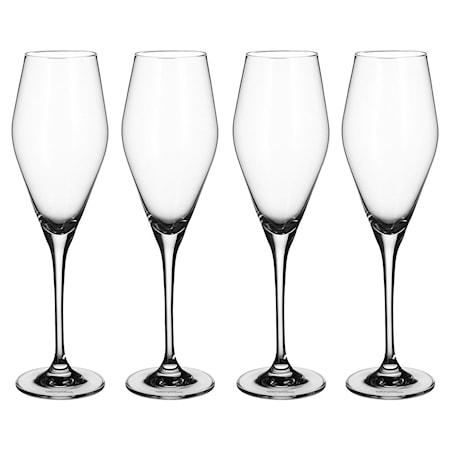 La Divina Champagneglas, 4-pack